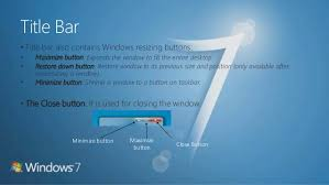 Windows 7 Top Bar Microsoft Windows 7