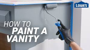 what paint is best for bathroom cabinets how to paint a vanity