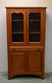 Kitchen Furniture Hutch Oak Hutch Cabinet Zeppy Io