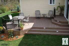 useful backyard deck designs plans also inspirational home