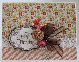scrapbook flair pam bray designs happy birthday day cards with