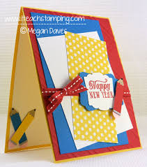 how to make a back to school greeting card tutorial i