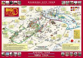 Map Of Shanghai China by Shanghai Bus Map Map Of Shanghai Bus China