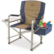 Folding Directors Chair With Side Table K Rite Directors Chair With Side Table Cooler 690383