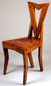 chaise nouveau déco cubisme tchéque chaise pavel janák 1911 12