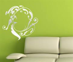 modern interior design canvas wall art ideas on grey concrete wall
