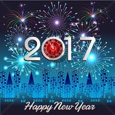 happy new year backdrop happy new year 2017 with fireworks background gl stock images
