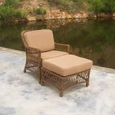 Pvc Wicker Outdoor Furniture by Resin Patio Lounge Chairs Foter
