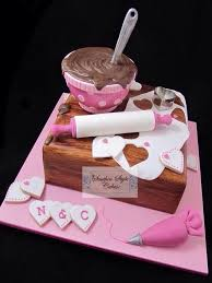 kitchen tea cake ideas for the baker or cake decorator in your family bakers cake