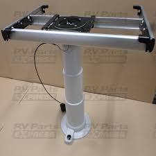 pre turned table legs nuova mapa adjustable table leg with turntable and sliding system