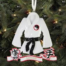 personalized karate black belt ornament walmart