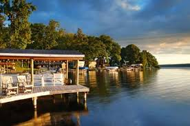 lakefront homes in private communities with lakefront real estate