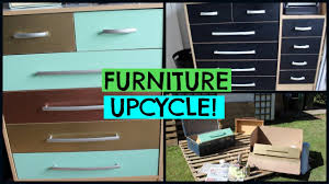 upcycle chest of draws furniture revamp diy youtube