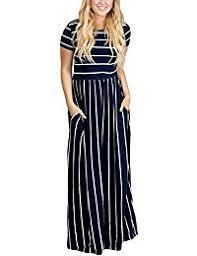 amazon com stripes dresses clothing clothing shoes u0026 jewelry