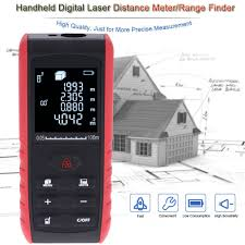 100m portable handheld digital laser distance meter range sales