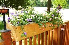 trendy balcony railing planter 145 deck railing planter brackets