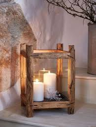 Lantern Table L Reclaimed Wood Candle Lantern L Candle Lanterns Woods And Craft