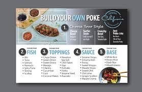 37 modern professional fast food restaurant menu designs for a