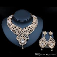 big necklace sets images African gold plating full jewelry set with big stone for woman jpg