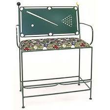 pool table spectator bench billiards spectator bench wayfair