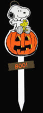 snoopy halloween wood yard sign boo snoopn4pnuts com