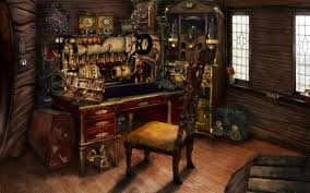 Steampunk Home Decorating Ideas Steampunk Presidents Awesome Steampunk Room By Homasya Dgse Jpg