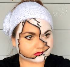 how to do broken doll makeup mugeek vidalondon