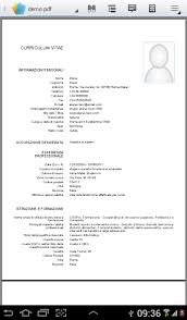 download curriculum vitae europeo pdf da compilare curriculum curriculum vitae europeo free app android su google play
