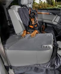 4knines split rear car seat cover for dogs hammock option 4knines