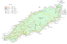 Trinidad Map Tourist And Road Map Of Tobago Tobago U2022 Mappery
