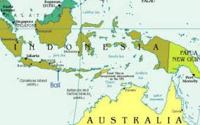 bali indonesia map map of bali indonesia and australia map