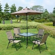 Patio Sets With Umbrella Gallery Of Adorable Foldable Patio Furniture Set With Additional