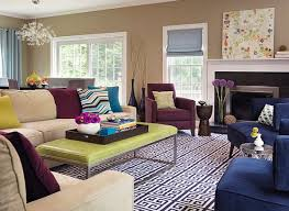 Purple Living Room Furniture How To Decorate With Purple In Dynamic Ways
