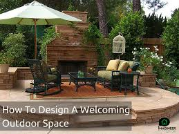 how to design a backyard to design a welcoming outdoor space