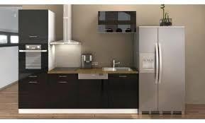 meuble haut cuisine noir laqué meuble de cuisine noir meuble haut noir cuisine pas cher