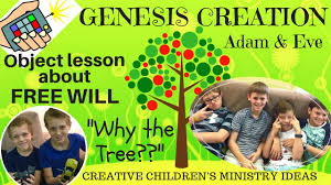 free will object lesson for kids adam u0026 eve children u0027s ministry
