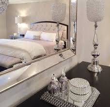Glamorous Bedrooms Tumblr Black And Grey Silver Old Hollywood - Glamorous bedrooms