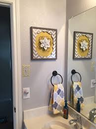 Grey And Yellow Bathroom by Gray U0026 Yellow Bathroom Bath Redesign Pinterest Grey Walls Gray And