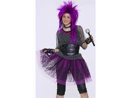 Halloween Band Costumes Tween Teen 80s Punk Rock Star Girls Halloween Costume Newegg