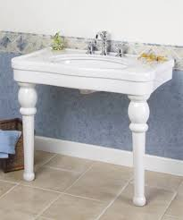 Bathroom Console Lavatory Consoles Victorian Style 2 Legged Bathroom Sinks