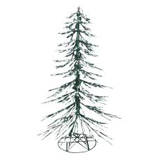 8 ft led white cypress tree 7407291g 18tu the home depot