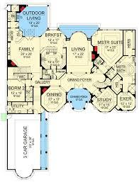 mediterranean house plan breathtaking mediterranean house plan 36475tx architectural