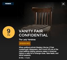 The Word Vanity Tonight U0027s Episode Of Vanity Fair Confidential Is All About The