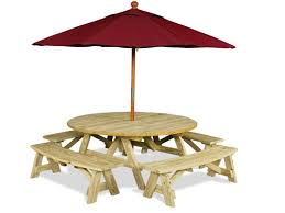round cement picnic tables octagon kitchen table round cement picnic tables table with umbrella
