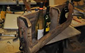 how to make a pallet wine rack with diy pete