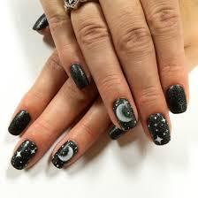 moon and star nail art i nailed it pinterest star nail