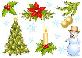 christmas decoration pictures christmas decorations 1 vector free vector 4vector