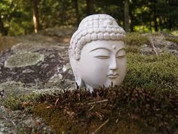 Buddha Home Decor Statues by Buddha Head Concrete Home Decor Plant Pot Decor Zen Garden