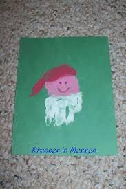 christmas handprint crafts dresses u0027n messes