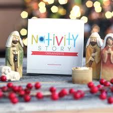nativity story ornaments company